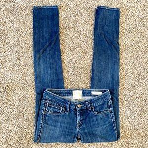 Taverniti So Jeans Grease Straight Leg Skinny 27